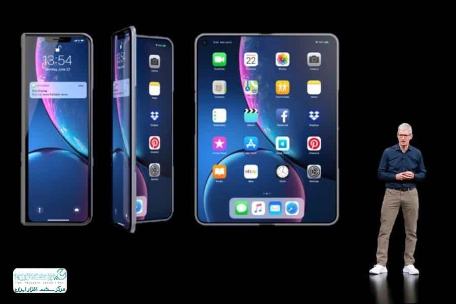 گوشی های انعطاف پذیر اپل