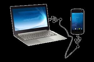 اتصال گوشی به کامپیوتر