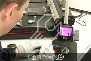 کاربرد دوربین حرارتی در تعمیر گوشی