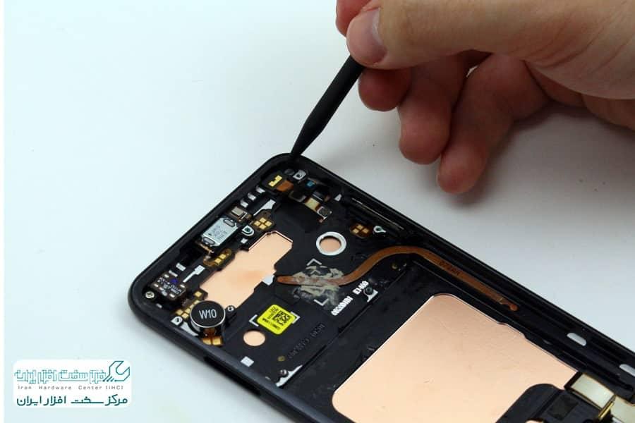 تعمیر دوربین موبایل ال جی