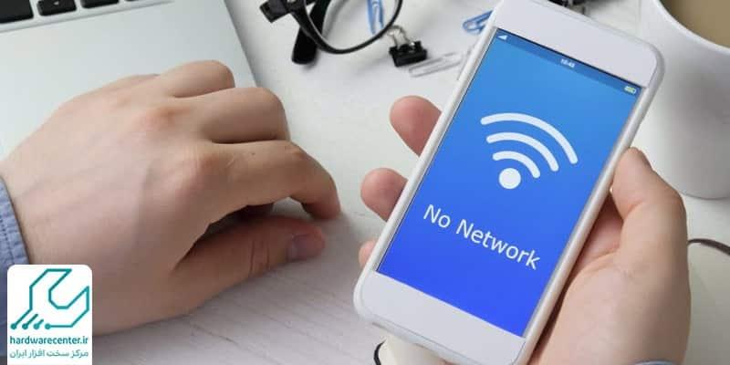 وصل نشدن موبایل به اینترنت