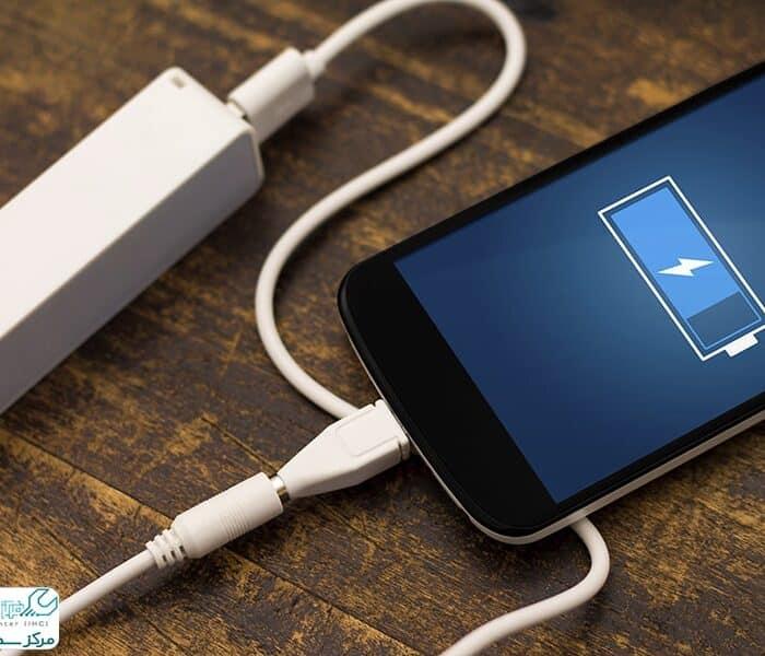 چرا گوشی شارژ نمی شود؟