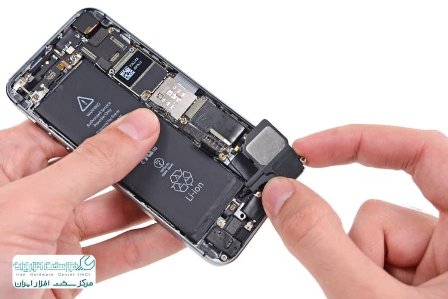تعویض اسپیکر موبایل