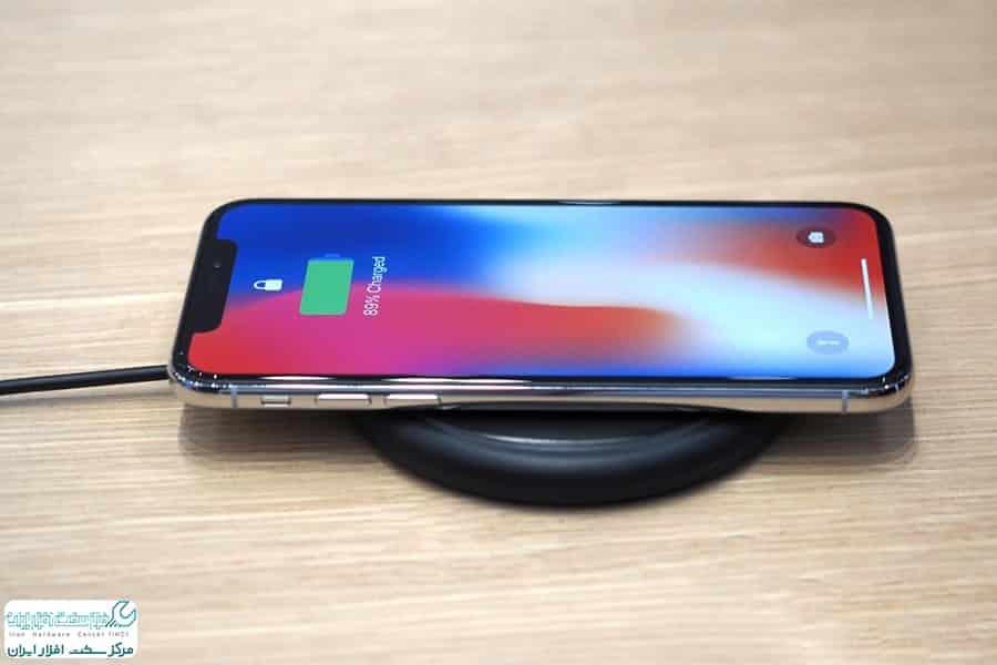 مشکلات شارژ بی سیم در iPhone X