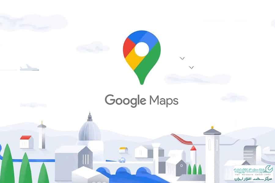 کار با گوگل مپ