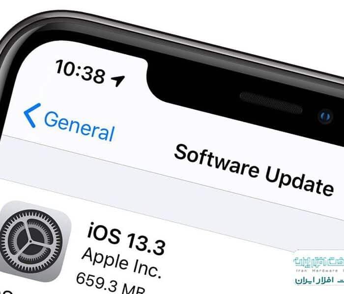 آموزش بروزرسانی iOS در آیفون و آیپد