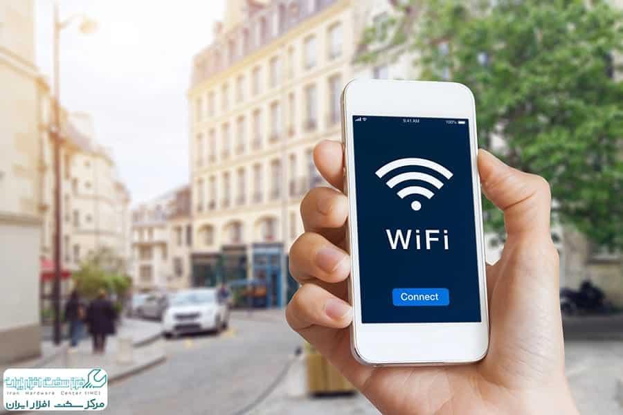 اتصال گوشی به وای فای