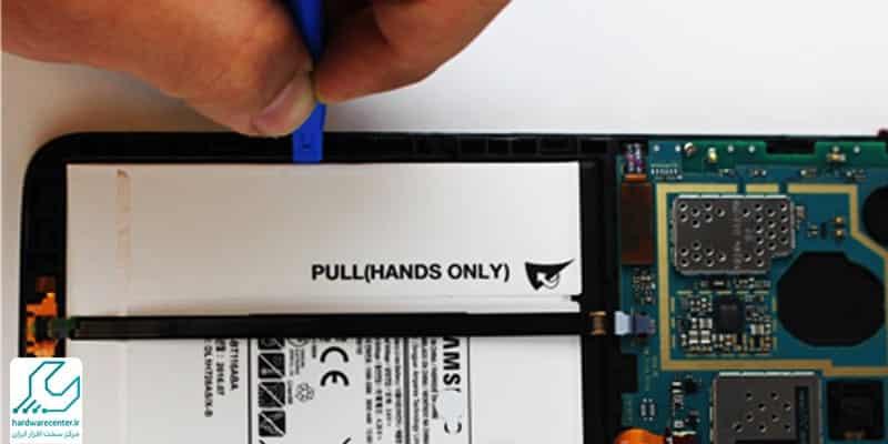 تعمیر یا تعویض باتری تبلت سامسونگ
