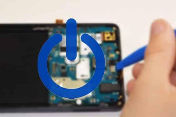 تعمیر دکمه پاور گوشی شیائومی Redmi Note 8