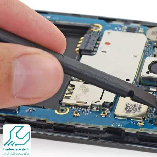 تعمیر میکروفن موبایل ال جی