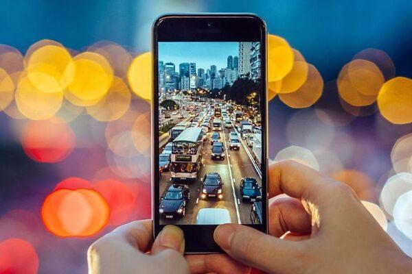 عکاسی با دوربین موبایل