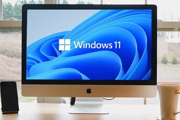 ویندوز 11 در کامپیوتر های مک